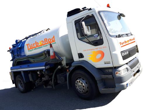 TurboRod Drain Services Truck